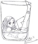 I in a Glass by Nami-Blue