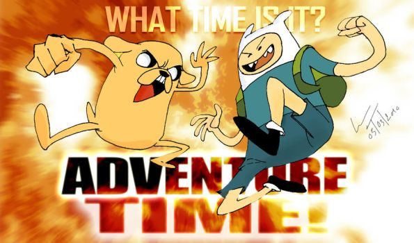 FINN AND JAKE AWESOME TIME by Kapalsky