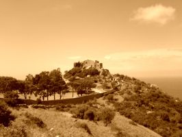 Corsica castle by nyc0
