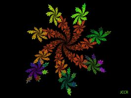 Leafs And Colors by jccrfractals