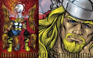 Thor - God of Thunder by marvisionart
