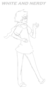 White and Nerdy. :WIP: by Isogom
