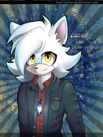 Lucas the snow lepard by Jealous-Sky