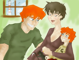 Fred Weasley's Family by Weasley-Detectives