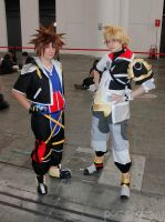 Sora and Ventus by Nami-v