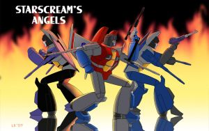 Starscream's Angels by Oreobot