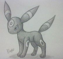 Umbreon by Bluekiss131