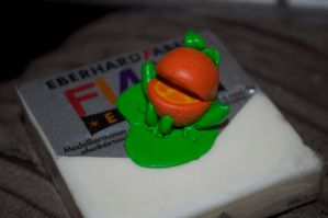 mlp frog orange by Blindfaith-boo