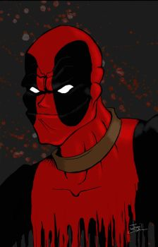 Deadpool by theshabe