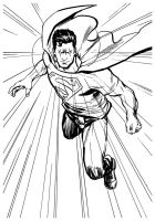 Action Comics Superman by stokesbook