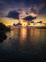 Sunset on Okinawa by Natures-Studio