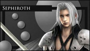 psp wallpaper - Sephiroth by JNKed