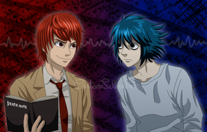Death Note by CartoonSilverFox
