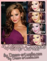Gimp Curve Pack2 by MichelleNeves