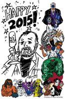 Happy 2015 by javierhernandez