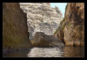 Cliffs Of Malta (Near Blue Grotto) by skarzynscy