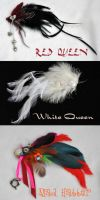 Wonderland hair fascinators by JozzyKane