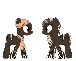 Chocolate Hipster Pone Adopt {closed} by Neppy-the-kit