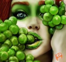 The Lady with grapes yami by Mindfreak-my