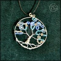 Wire Pendant by Ninina-nini