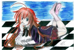 Rias Gremory by HIMURAPT89