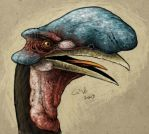 Fauxs Blue Nosed Camelbill by commander-salamander