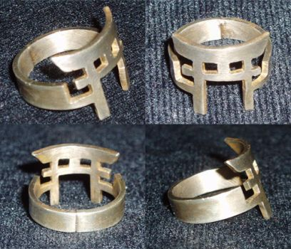 Torii Ring by Hagane-Jade