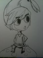 Minish Cap Link Chibi Thing. by Dscapades