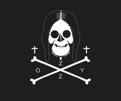 OZZY Jolly Roger by KxG-WitcheR