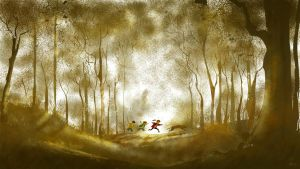 We called it the enchanted forest. by PascalCampion