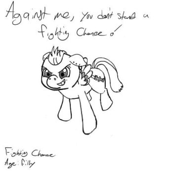 Filly Fighting Chance by SuriFox1