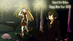 Sword Art Online New Year by branden9654