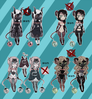 New Specie Adoptables 4/4 Closed by CrimsonSnows