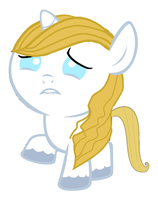 Baby Blueblood is Sad by 3D4D