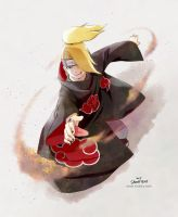 Naruto- Deidara by Snonfield