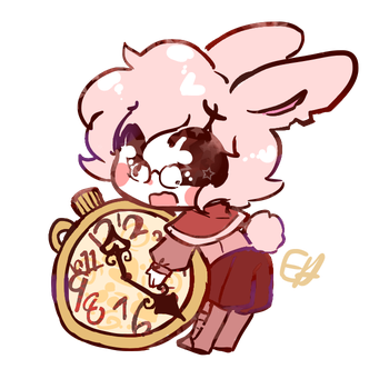 Oh, Look at the Time! by bunnyb133