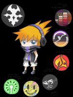 TWEWY: Phones by jelli-chan