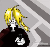 FMA: Do Just What Tell You by DiehardGohanFan