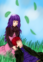 Akari and Kaoru Coloured :3 by chemheart