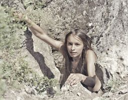 Rock climber by ohlopkov