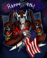 Happy 4th 2015 by ForgottenHope547