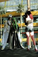 Emperor Lelouch and Empress C.C. Cosplay 2 by Trafalgar1412