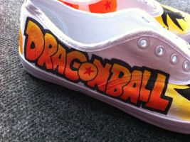 Jessman5 custom shoes. [Dragonball] by Jessman5