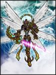 Magna Angemon: Gateway to Hope by Kiarou
