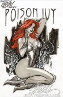 Poison Ivy 'Gray' by J-Scott-Campbell