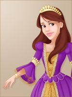 Disney Princess Megan by madam-marla