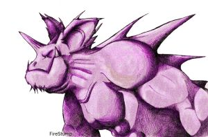 Nidoking 34 by FireStump