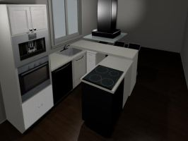 Small kitchen design by SiyanaDimitrova