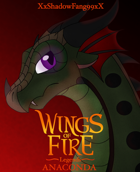 Wings of Fire Legends Anaconda (Read Description) by xXShadowFang99Xx