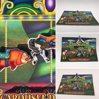 Carousel Day Dream 3D Kiss Cut Stickers  by Mere771